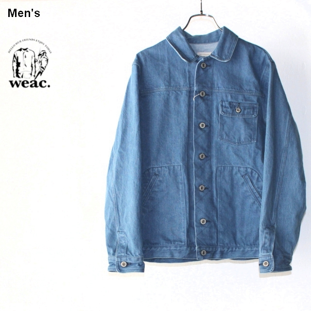weac. デニムジャケット BLUE JEANS MEMORY(BLEACH) 【Men's】