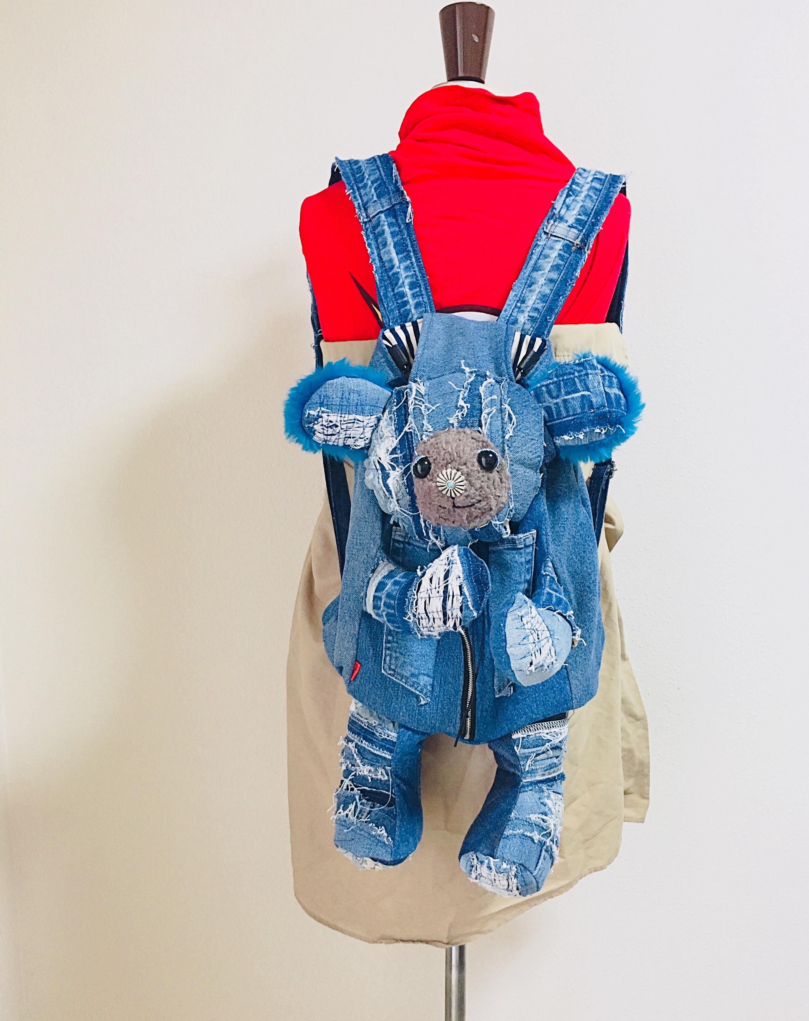 Damaged Bear Backpack