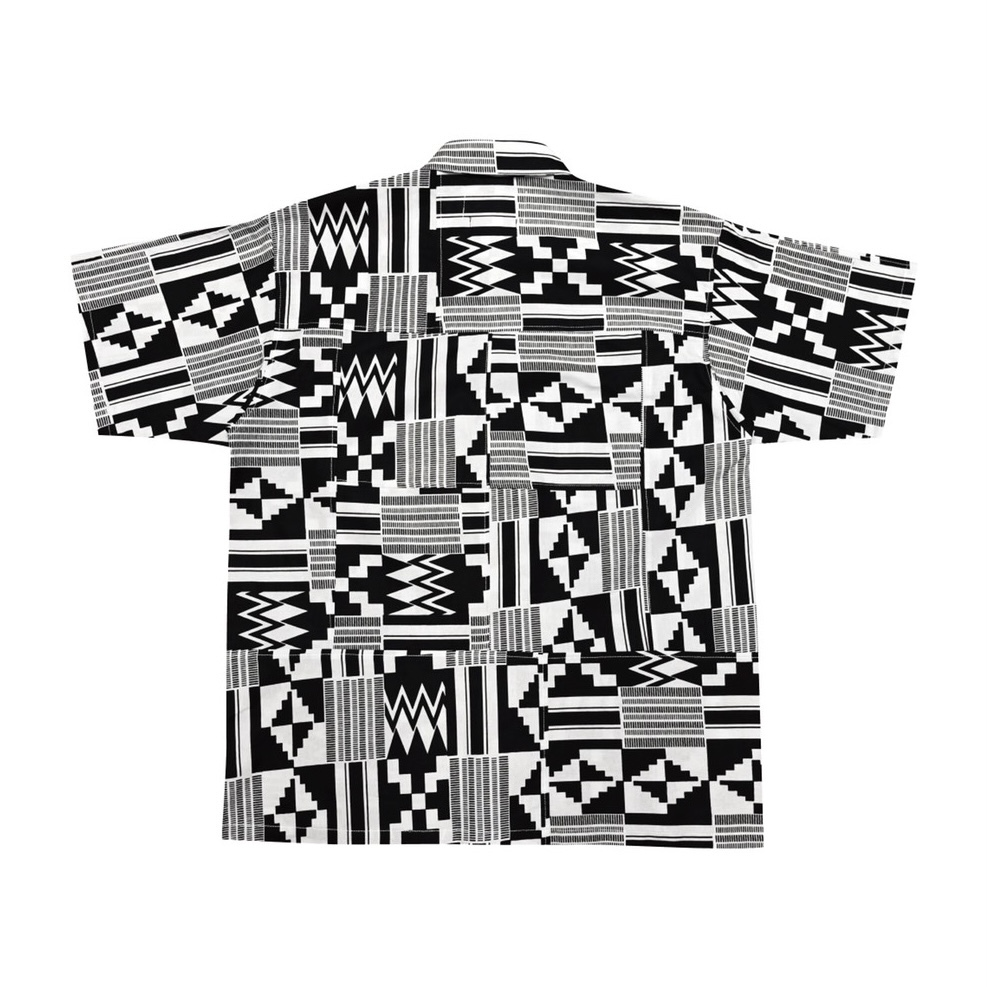 Kente shirts - (MIYAGIHIDETAKA Collaboration) - 画像2