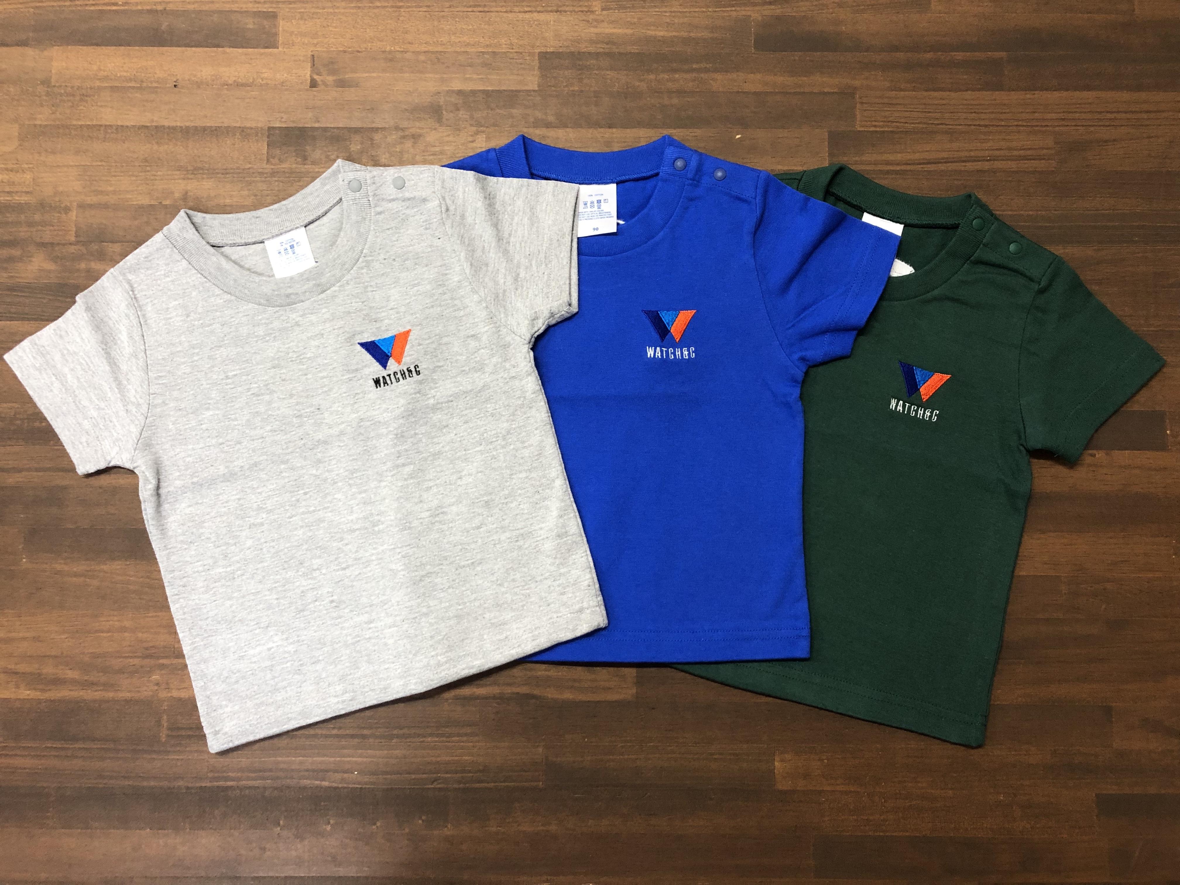 Hoopnsk × WATCH&C コラボ企画第1弾 キッズTシャツ