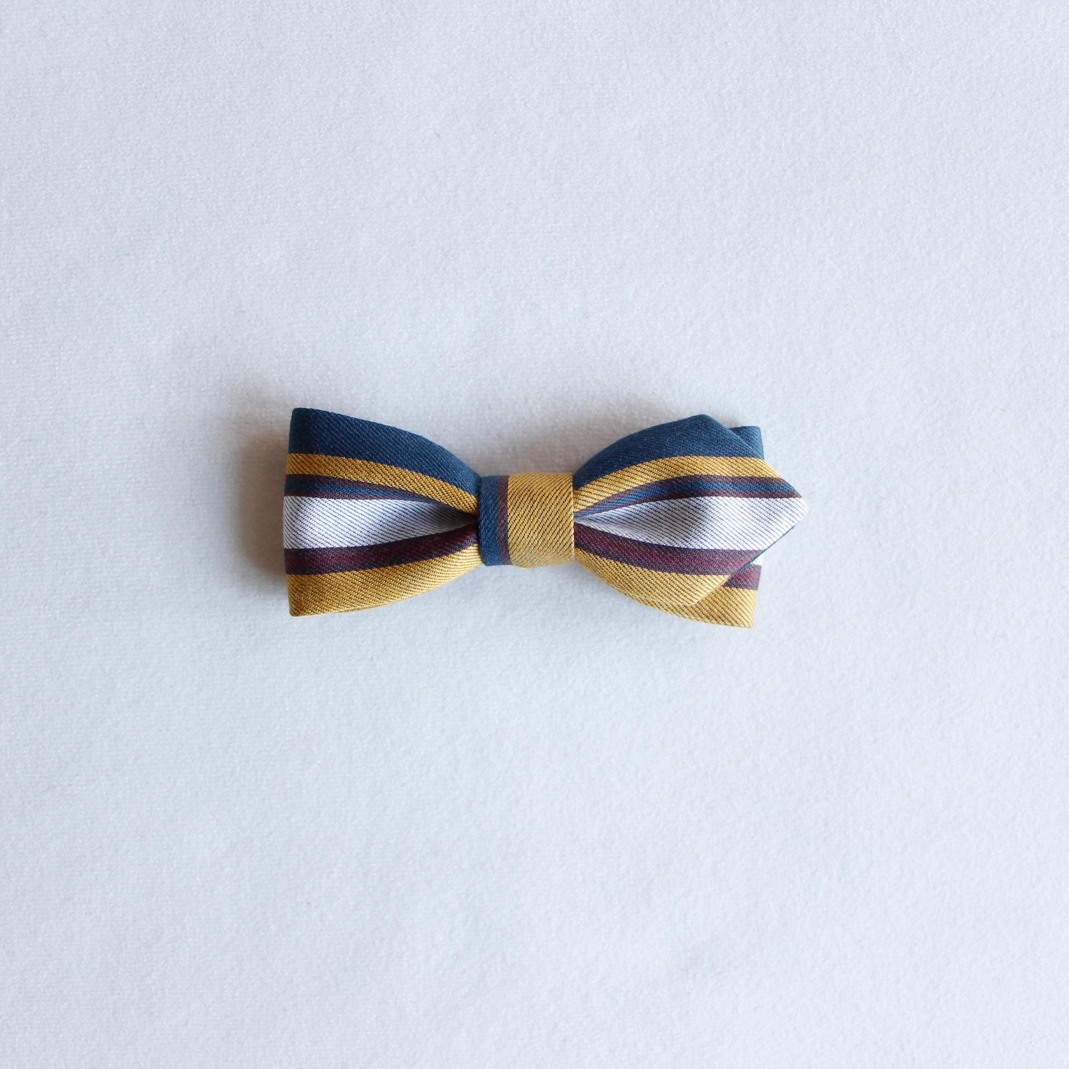 《eLfinFolk 2020SS》regimen stripe bow tie / blue