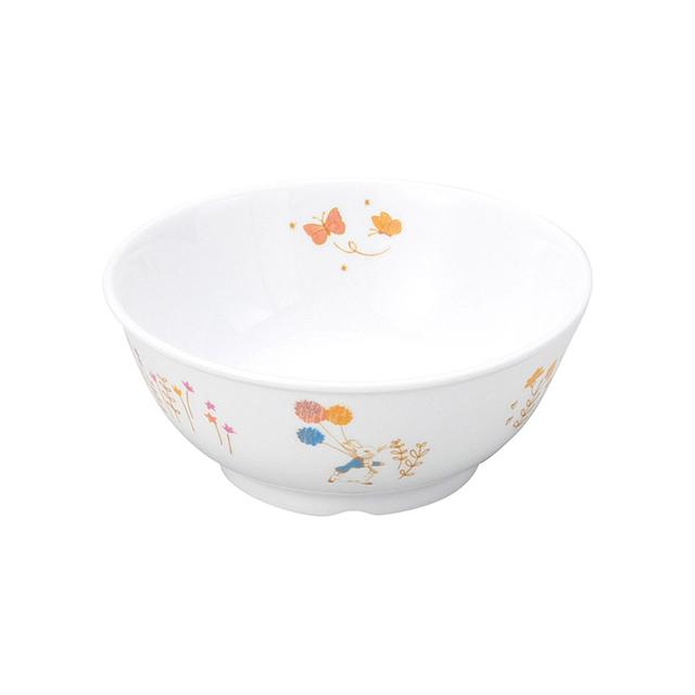 【1087-7110】ピーターラビット 強化磁器 11cm こども茶碗 アドベンチャー