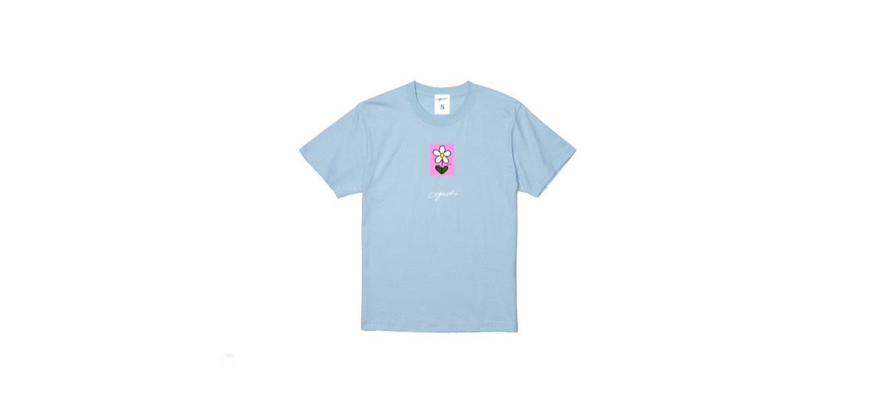 coguchi flower T-shirt (LBL)