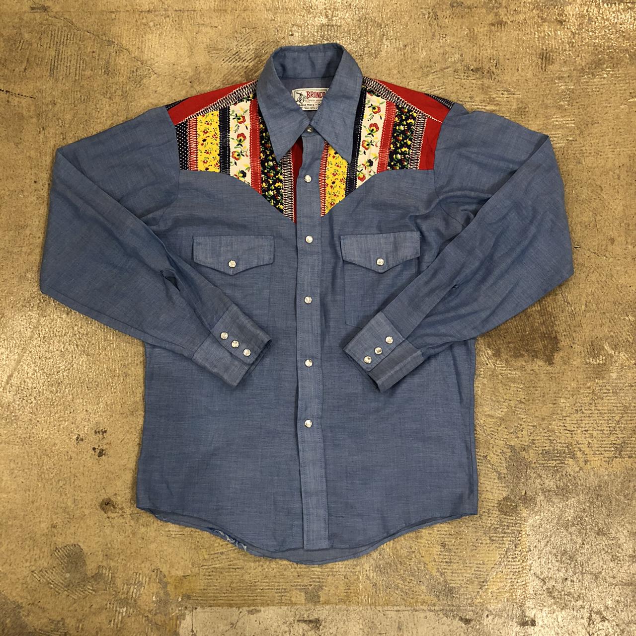 Bronco 60's Western L/S Shirts ¥5,800+tax