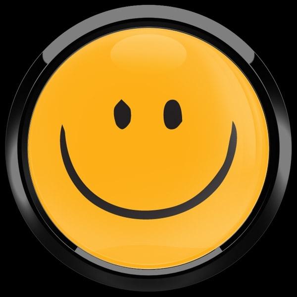 ゴーバッジ(ドーム)(CD1088 - EMOJI SMILE HAND DRAWING 2) - 画像2