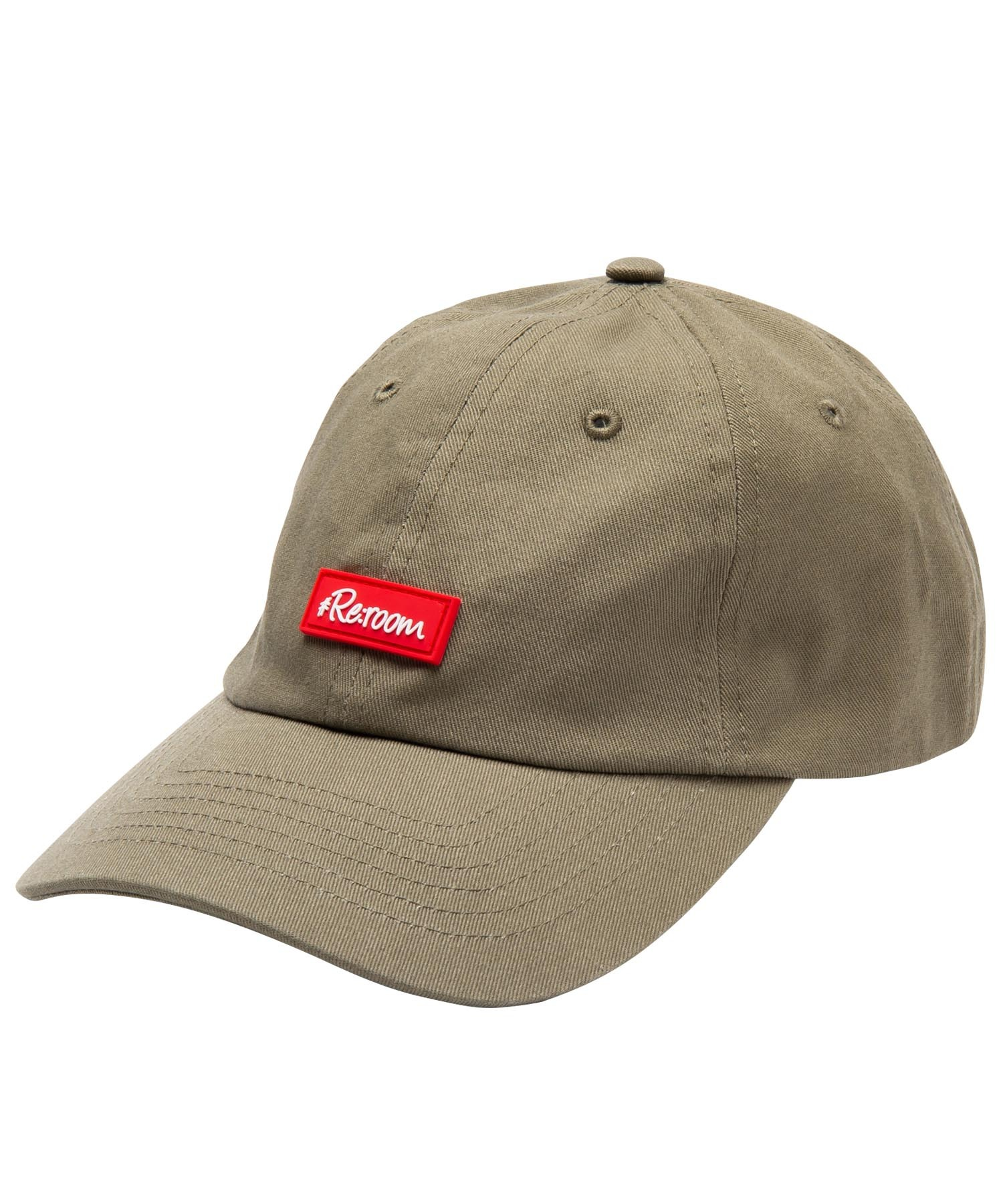 RUBBER LOGO TWILL CAP[REH086]