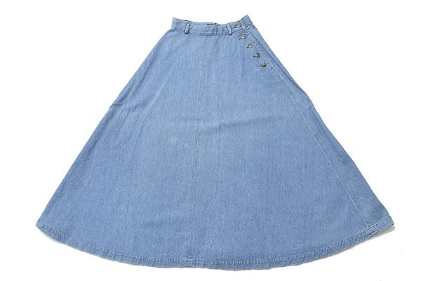 Ralph Lauren COUNTRY size9 vintage skirt/denim