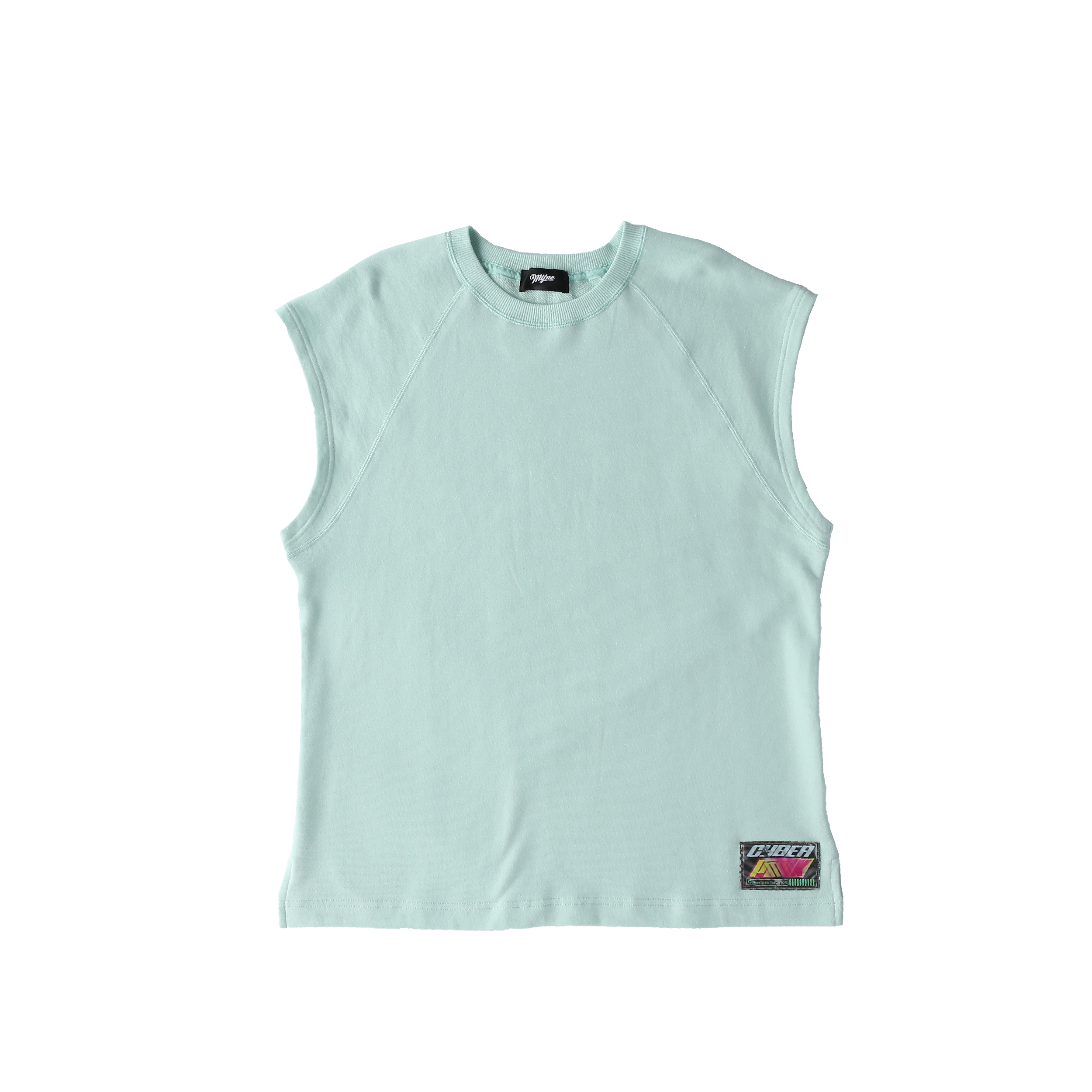 Wappen no-sleeve sweat / BLUE - 画像1