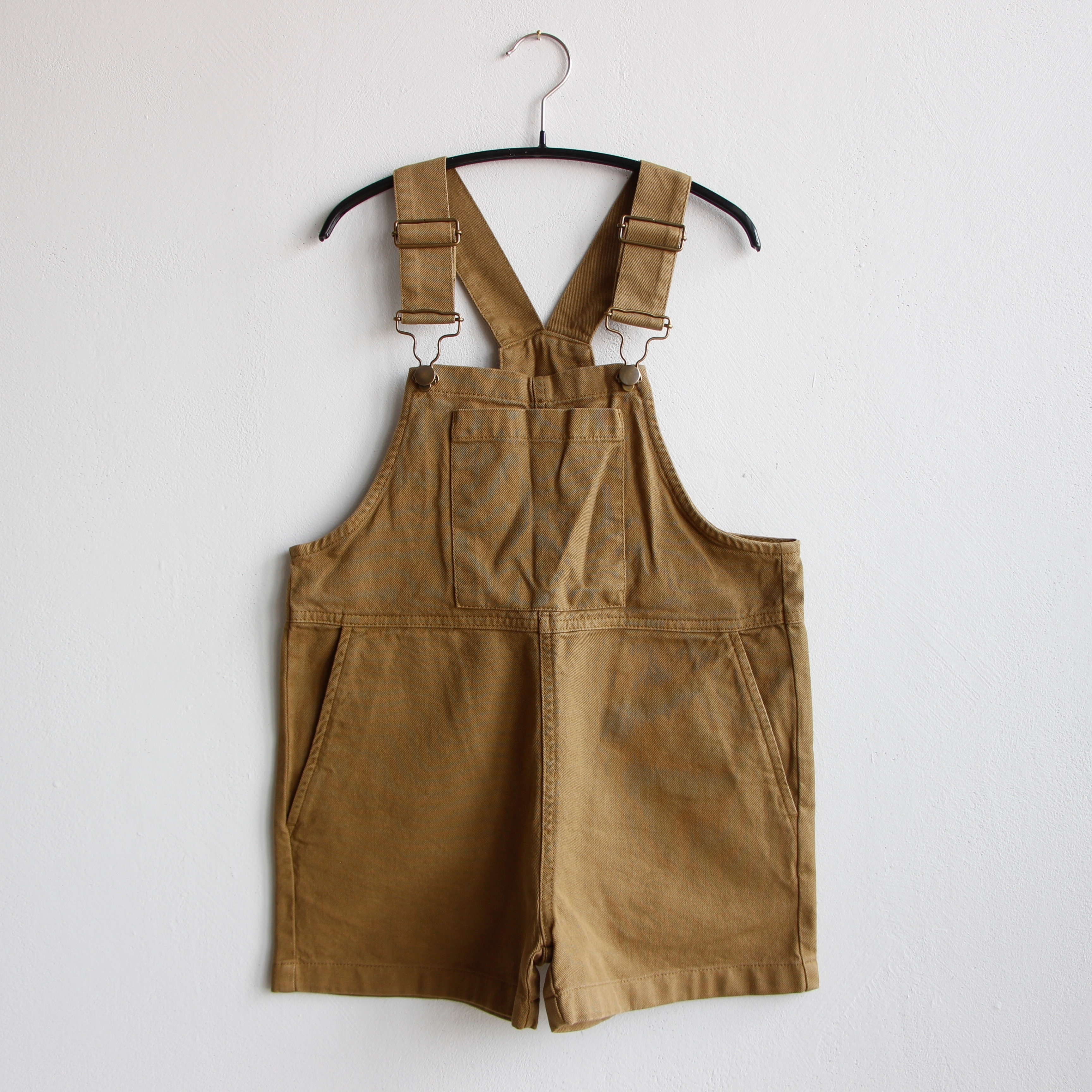 《main story 2020SS》Short Dungaree / Butternut