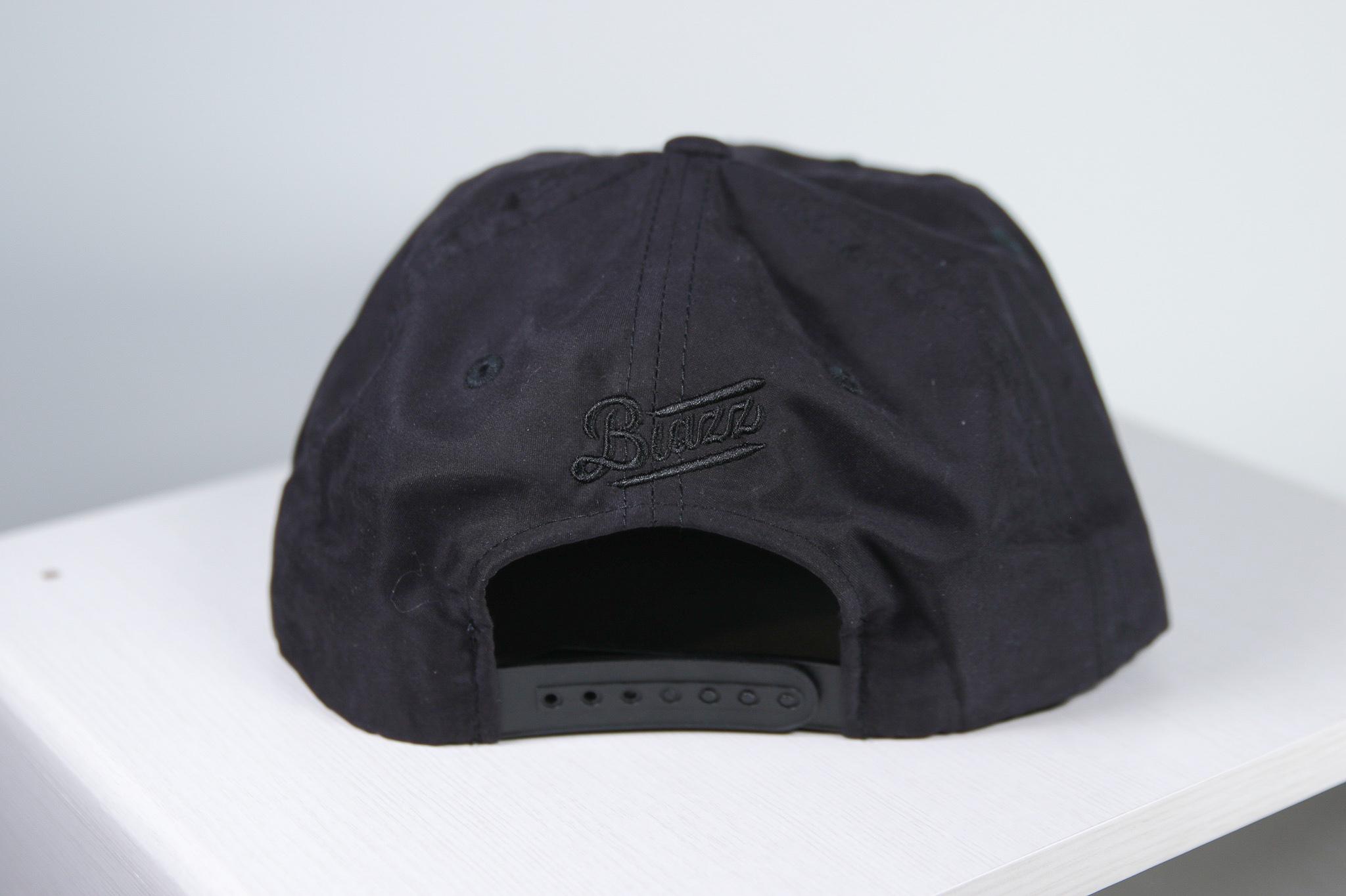 ZZSB CALI 5 PANEL NYLON CAP [BLACK]