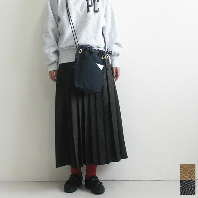 kha:ki カーキ FRONT PLEATED SKIRT フロントプリーツスカート (品番mil-19fsk52)