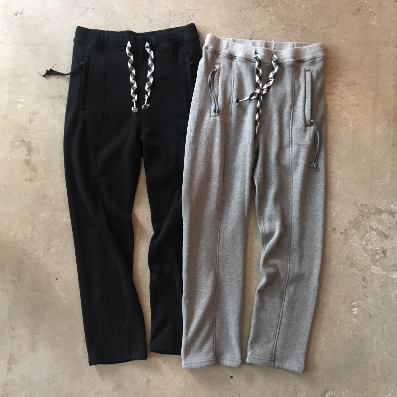 YSTRDY'S TMRRW - FAUX MOUTON WARM UP PANTS