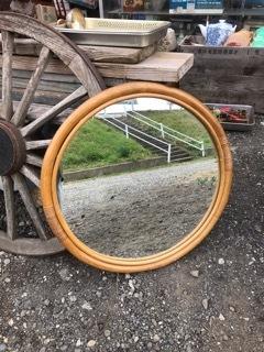 レトロ まるーい鏡