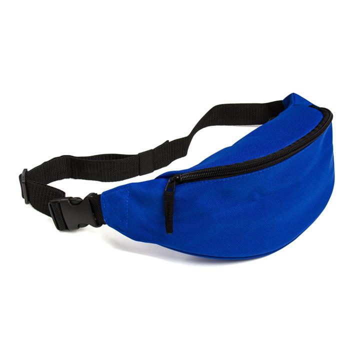 ウエストバッグ ブルー