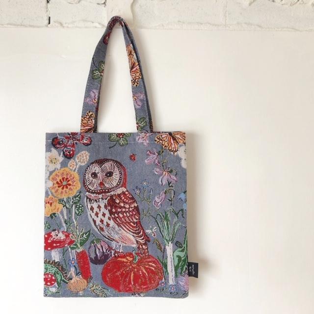Nathalie Lete Animal Bag Owl ナタリーレテ ゴブラン織トートバッグ