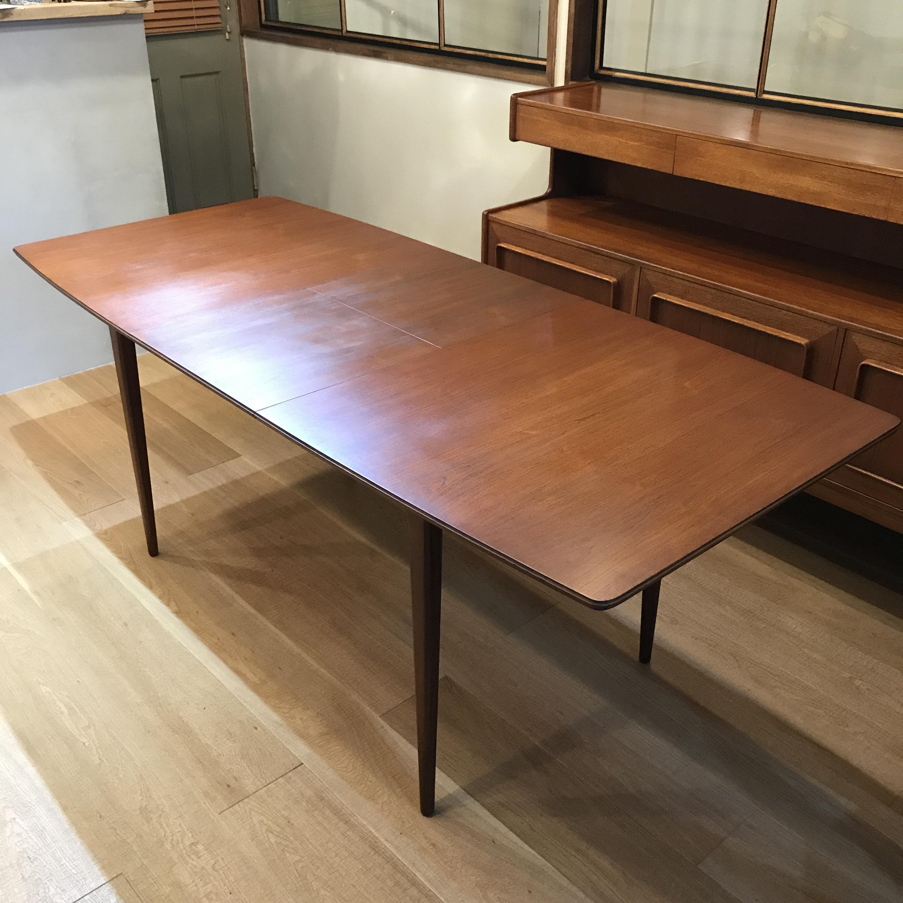 北欧ビンテージ家具 A.H.Mackintosh社 (マッキントッシュ) エクステンションダイニングテーブル