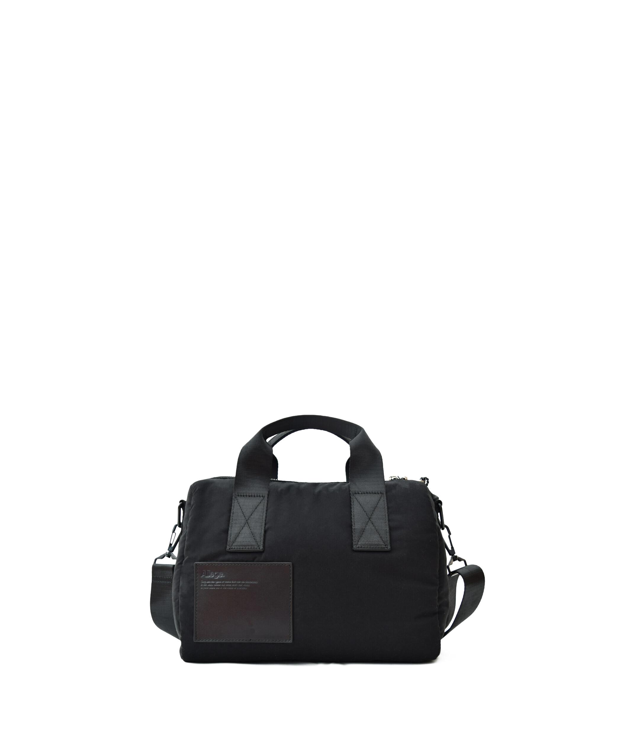 Allege × LORINZA Nylon Mini Boston - Black