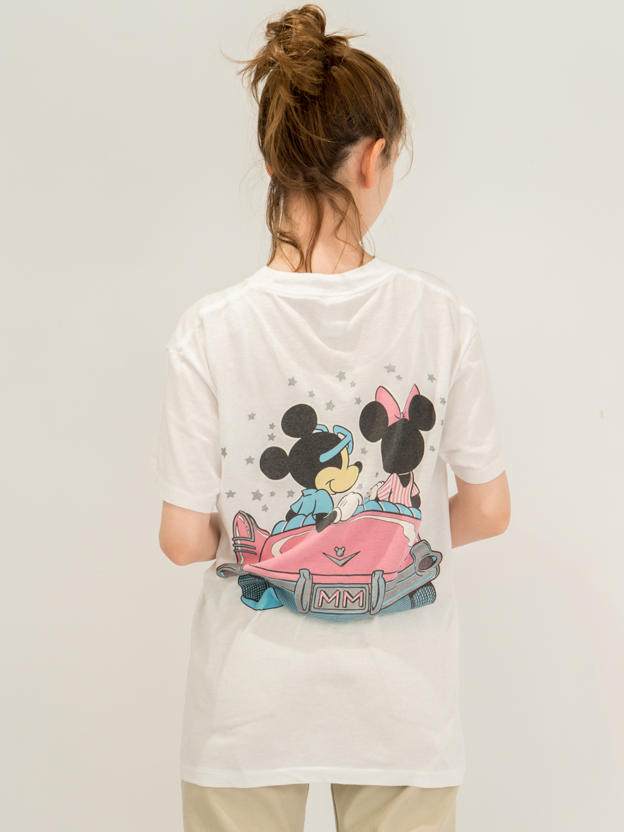 ◼︎80s Mickey & Minnie driving star T-shirts from U.S.A.◼︎