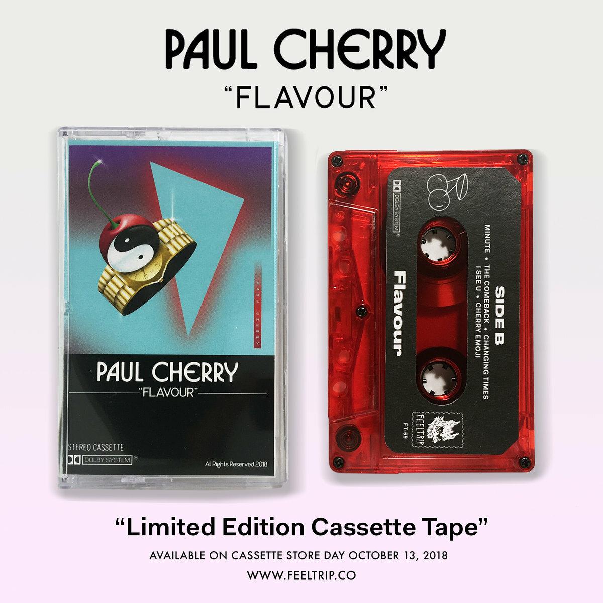 Paul Cherry / Flavour(200 Ltd Cassette)
