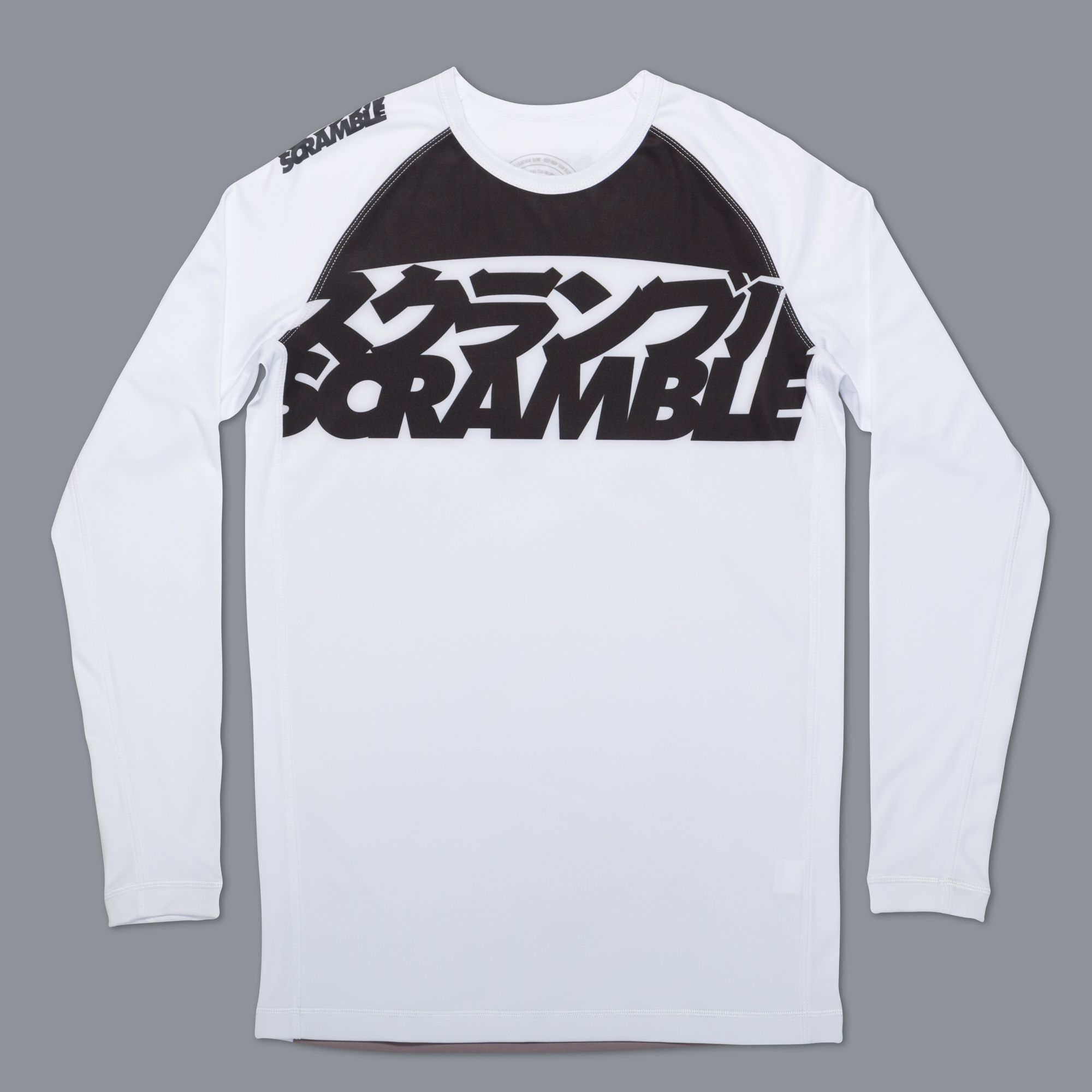 SCRAMBLE RANKED RASHGUARD V3 –ホワイト