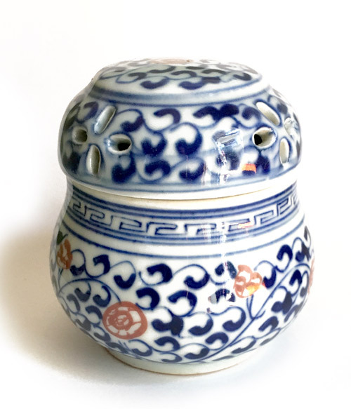 景徳鎮の養盆(虫缶)小サイズ