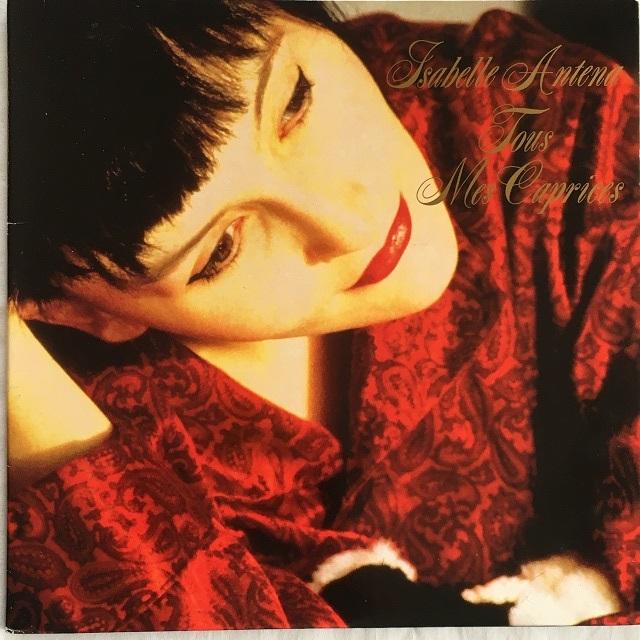 【LP・ベルギー盤】Isabelle Antena  /  Tous Mes Caprices