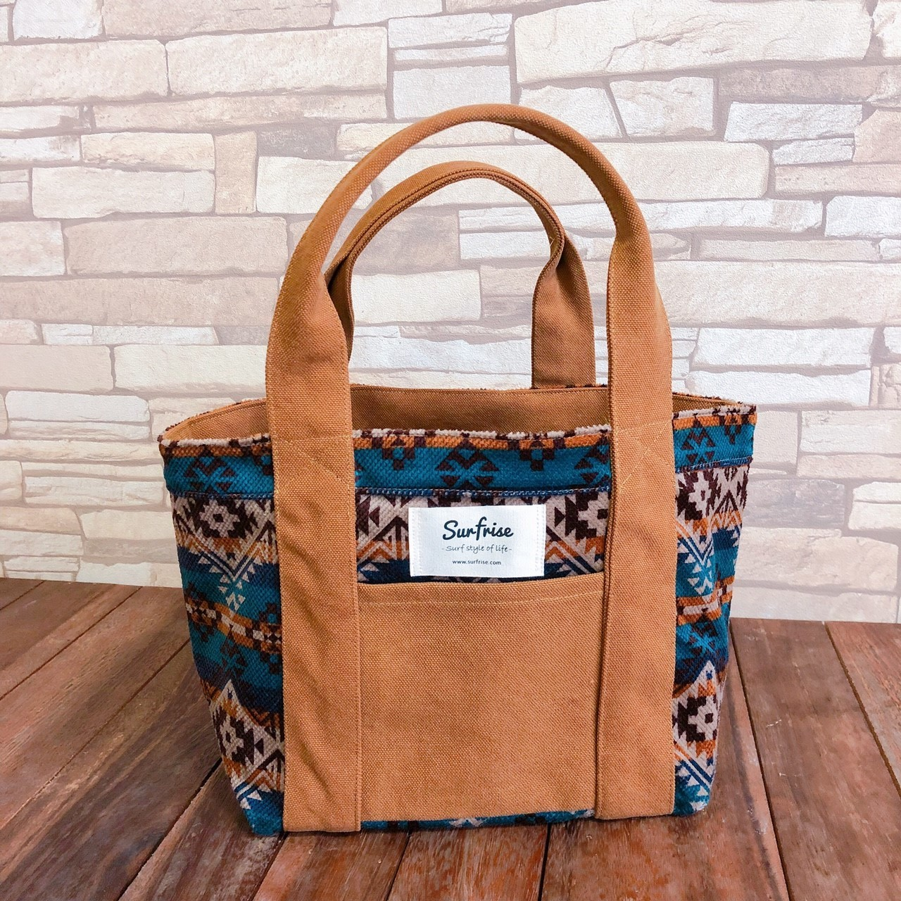 Camp Tote bag S - Camel