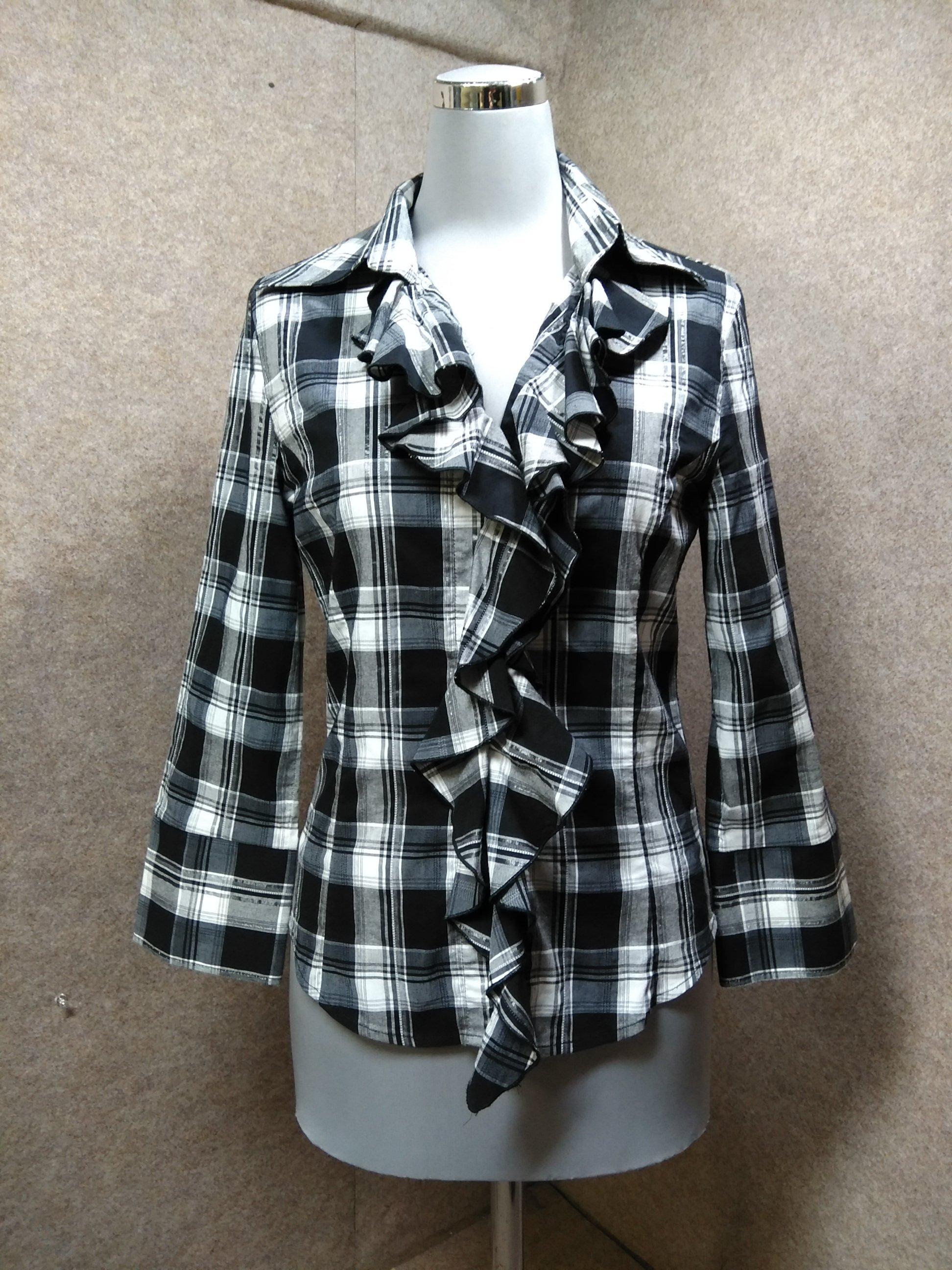 ナラカミーチェ NARACAMICIE ブラウスシャツ M0 mh936e