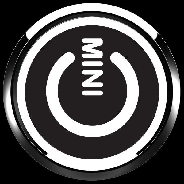 ゴーバッジ(ドーム)(CD1022 - MINI POWER BLACK) - 画像3