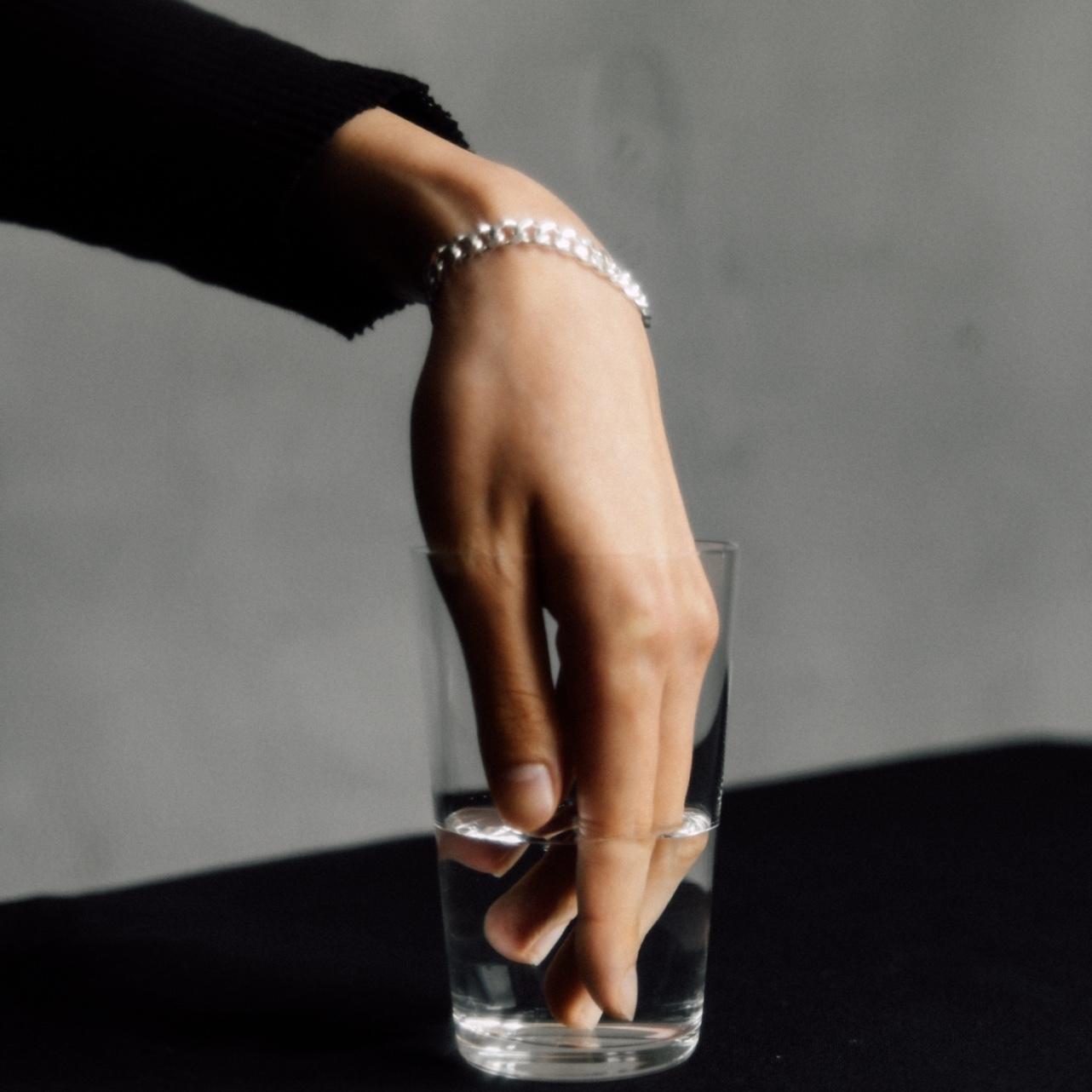 N-S4 silver925 chain bracelet