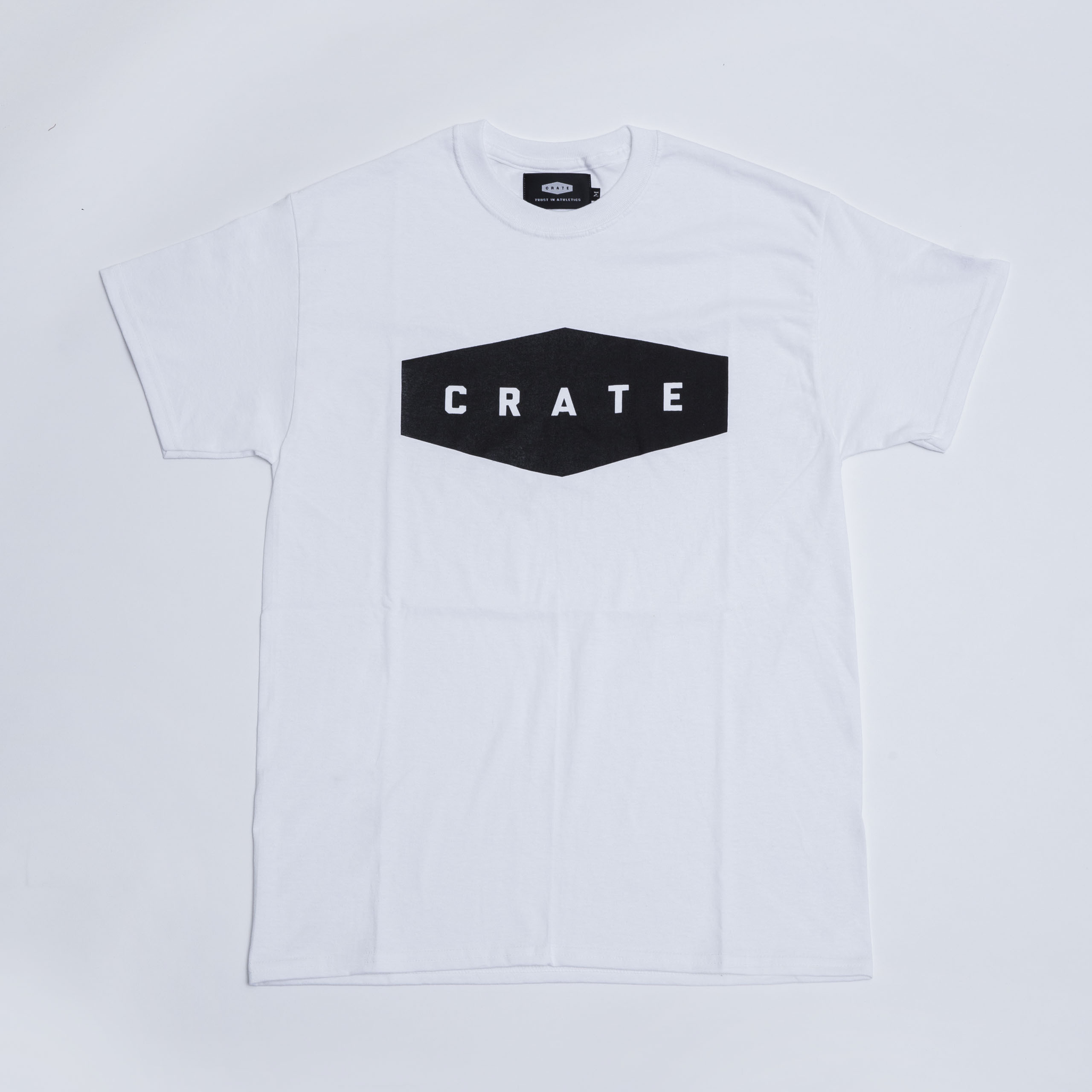 Crate Basic T-Shirt -  White