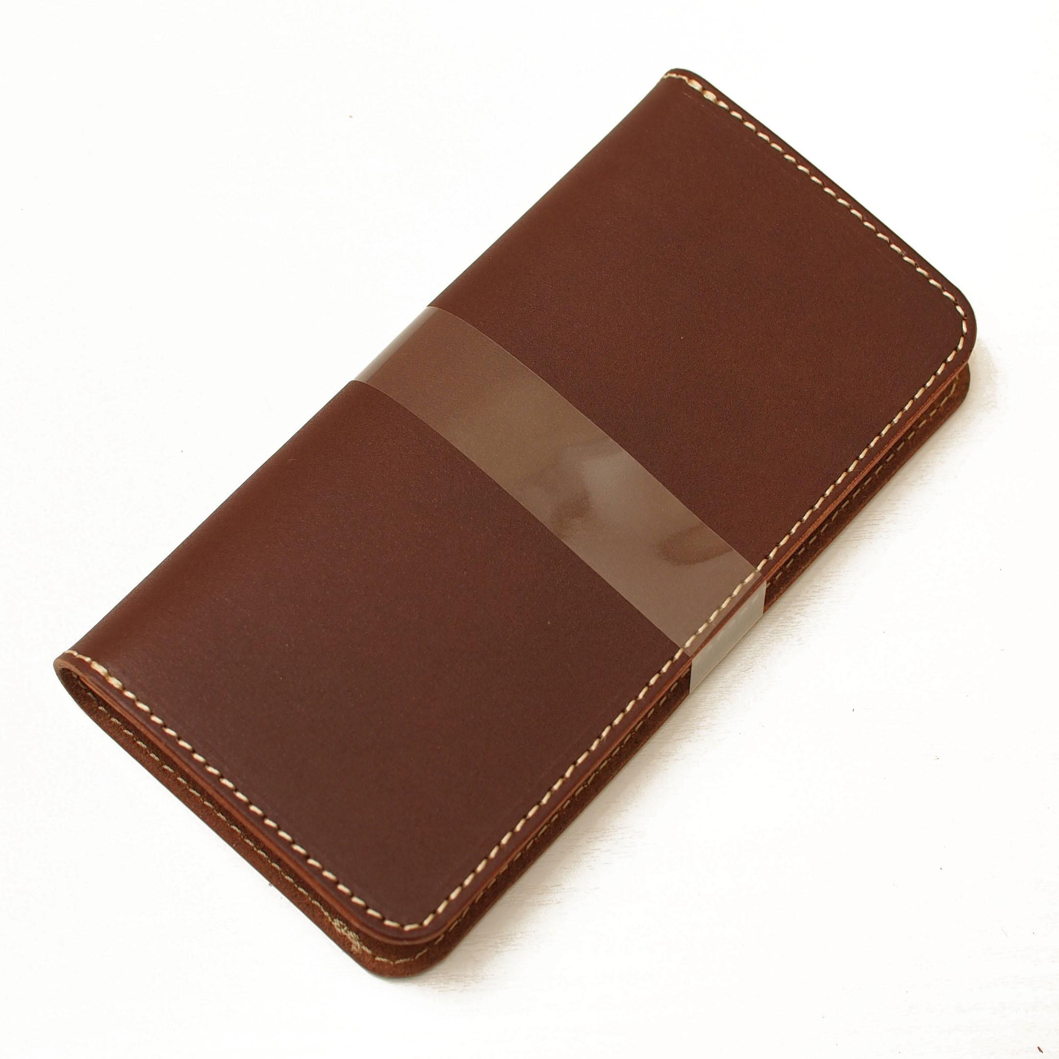 ほぼ全機種製作チョコ手帳型スマホケース国産牛革 iPhone XPERIA Galaxyなど