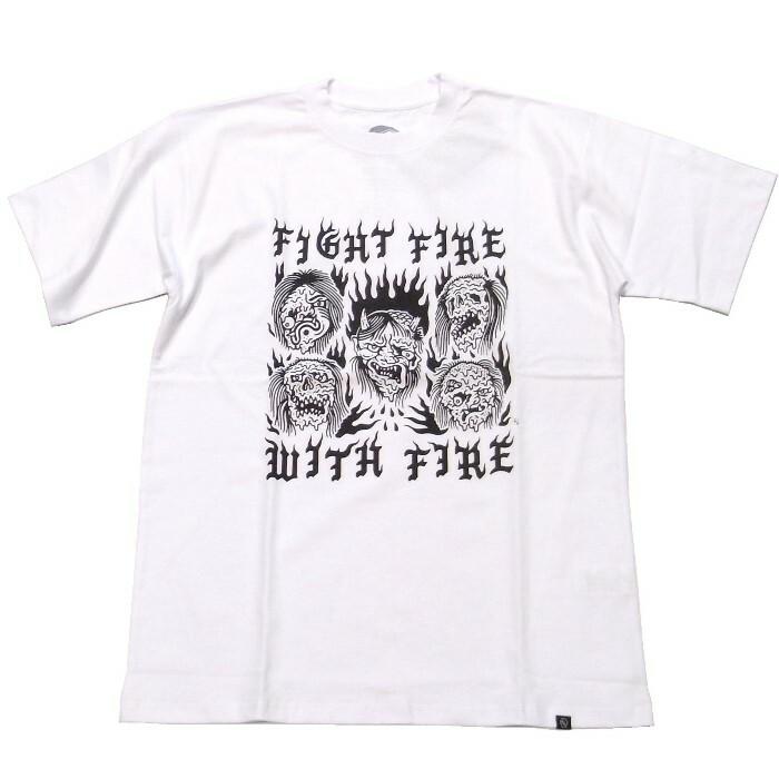 LURKING CLASS(ラーキングクラス) / FIRE TEE(ST19MT05)(Tシャツ)