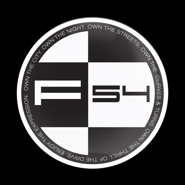 ゴーバッジ(ドーム)(CD0991 - MINI F54) - 画像1