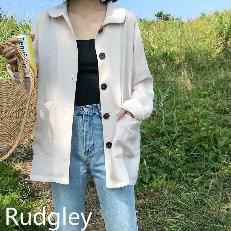 カジュアル シャツ ジャケット 韓国ファッション