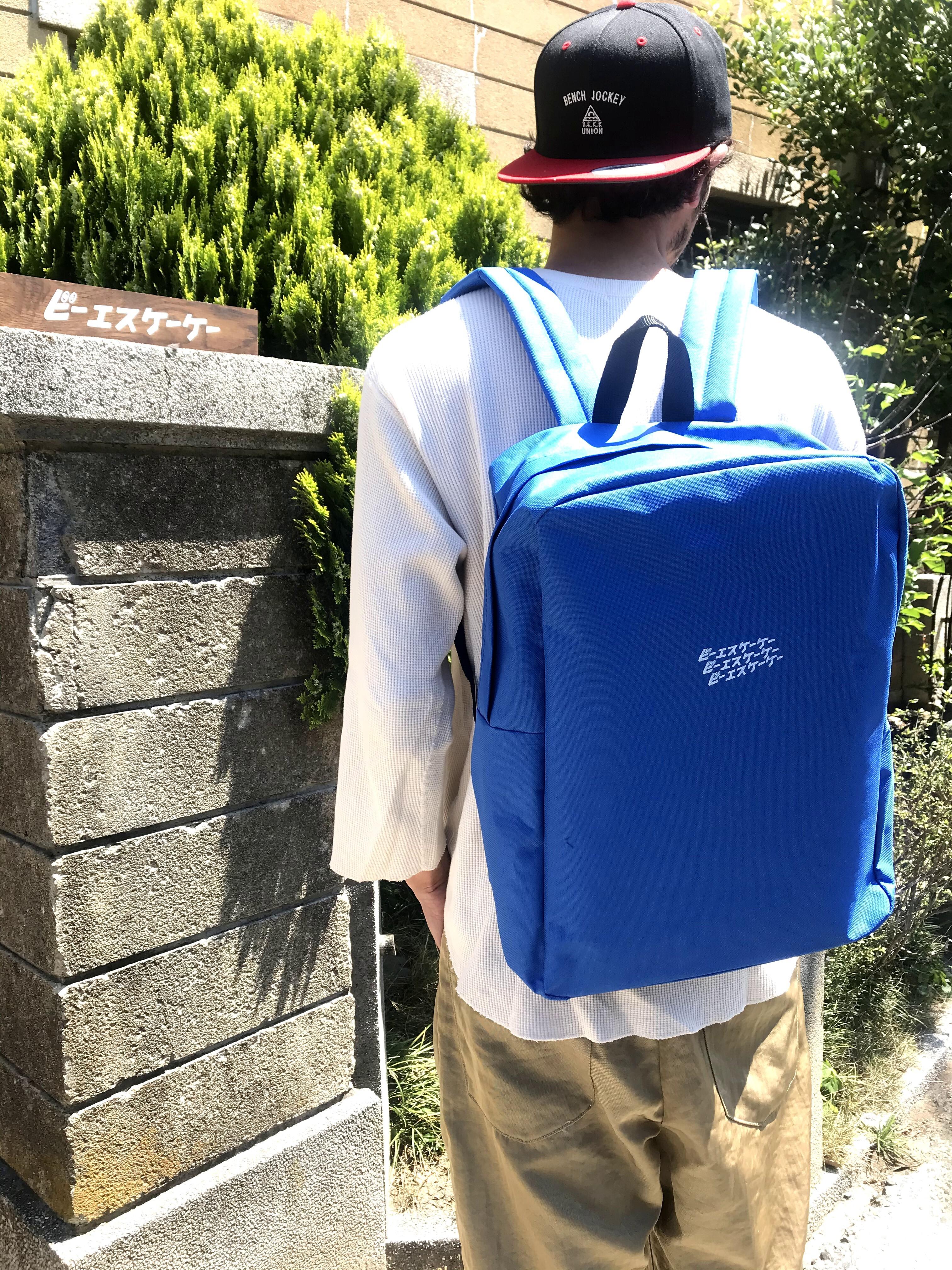 【ビーエスケーケー x DISKAH コラボ】バックパック BLUE