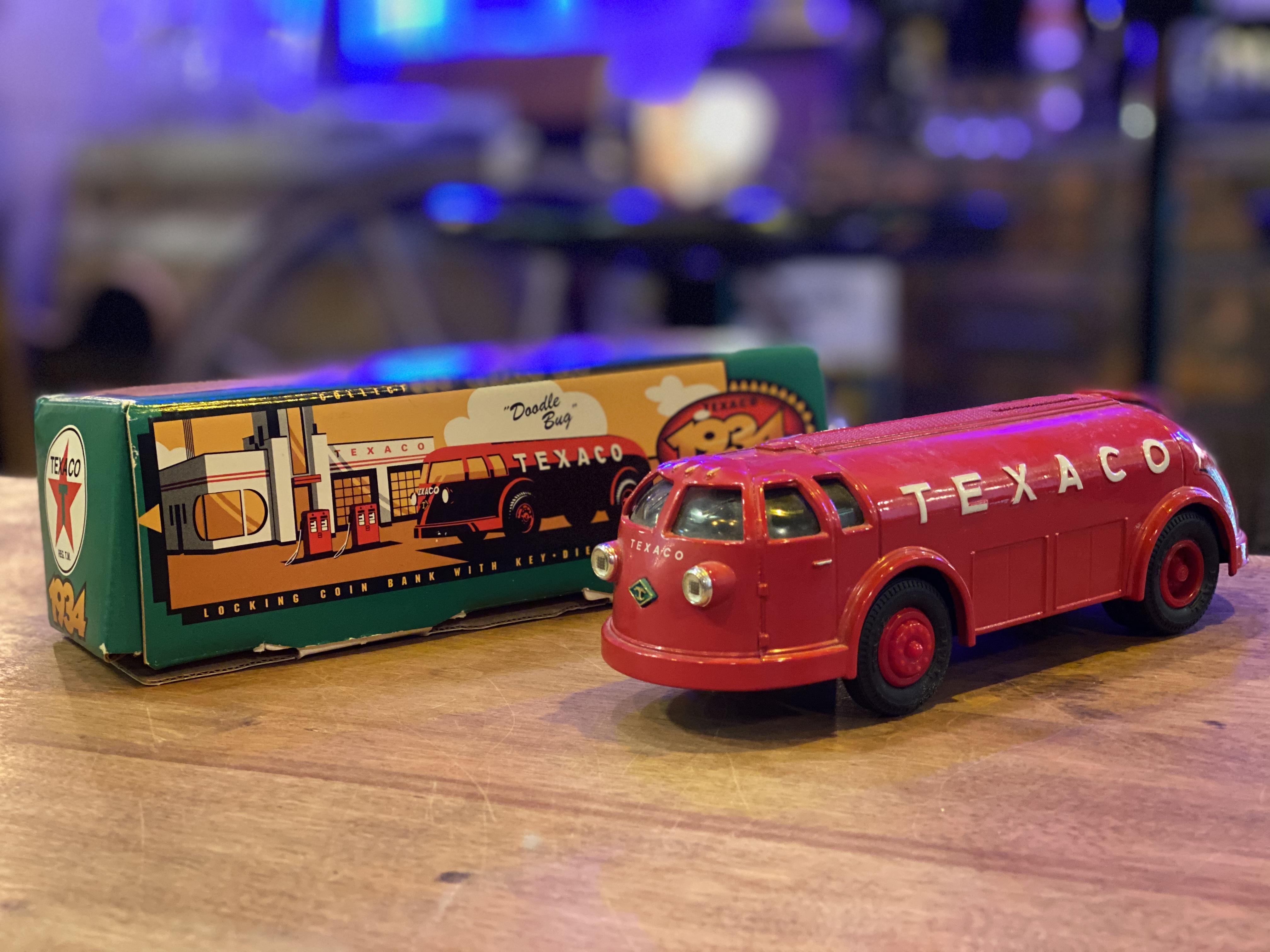 品番3548 1/38スケール ERTL 1934年 ダイヤモンドT テキサコ タンカー トラック 1994 EDITION #11 元箱付 貯金箱 コインバンク  ダイキャストカー 011