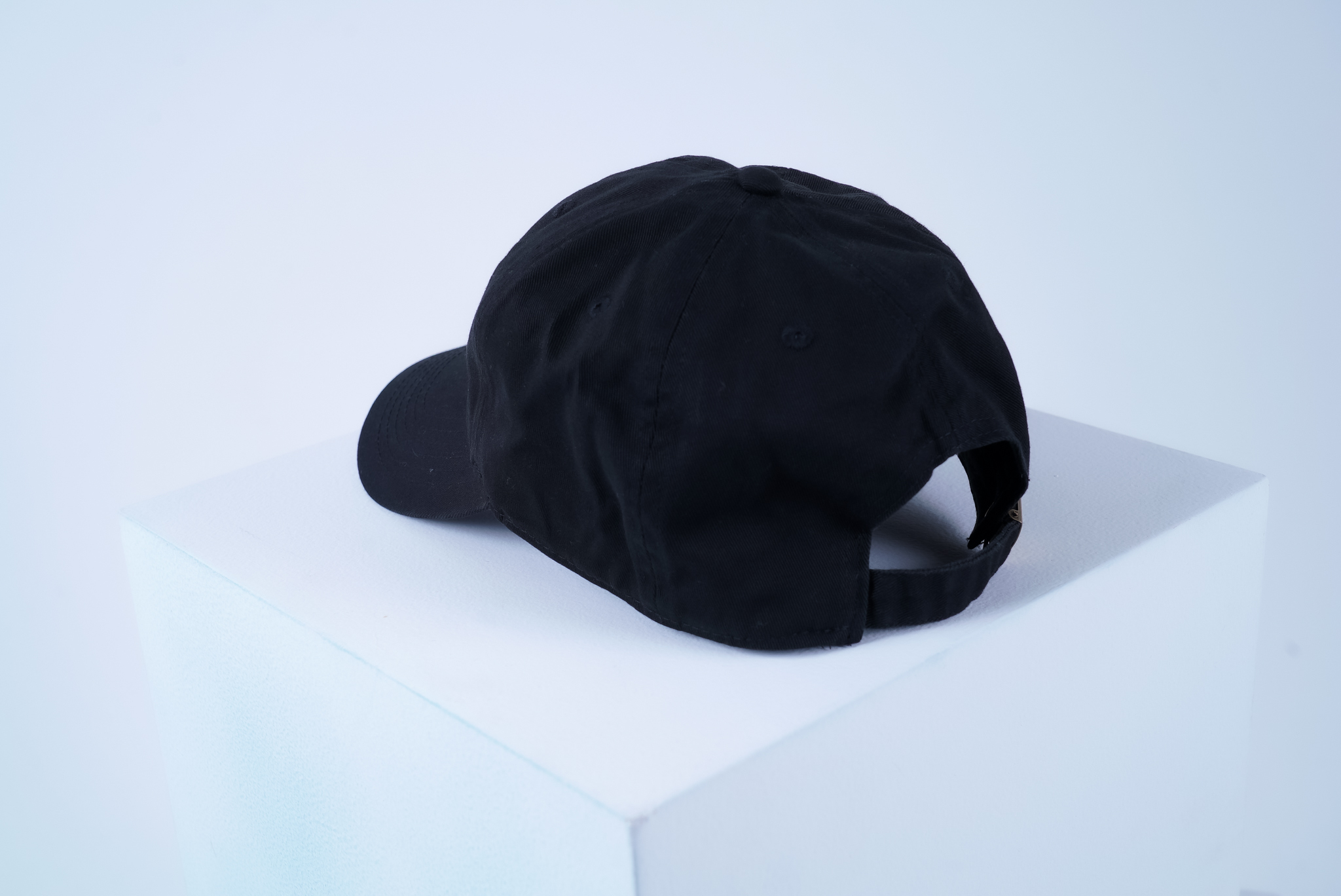 BW COTTON CAP [BLACK]