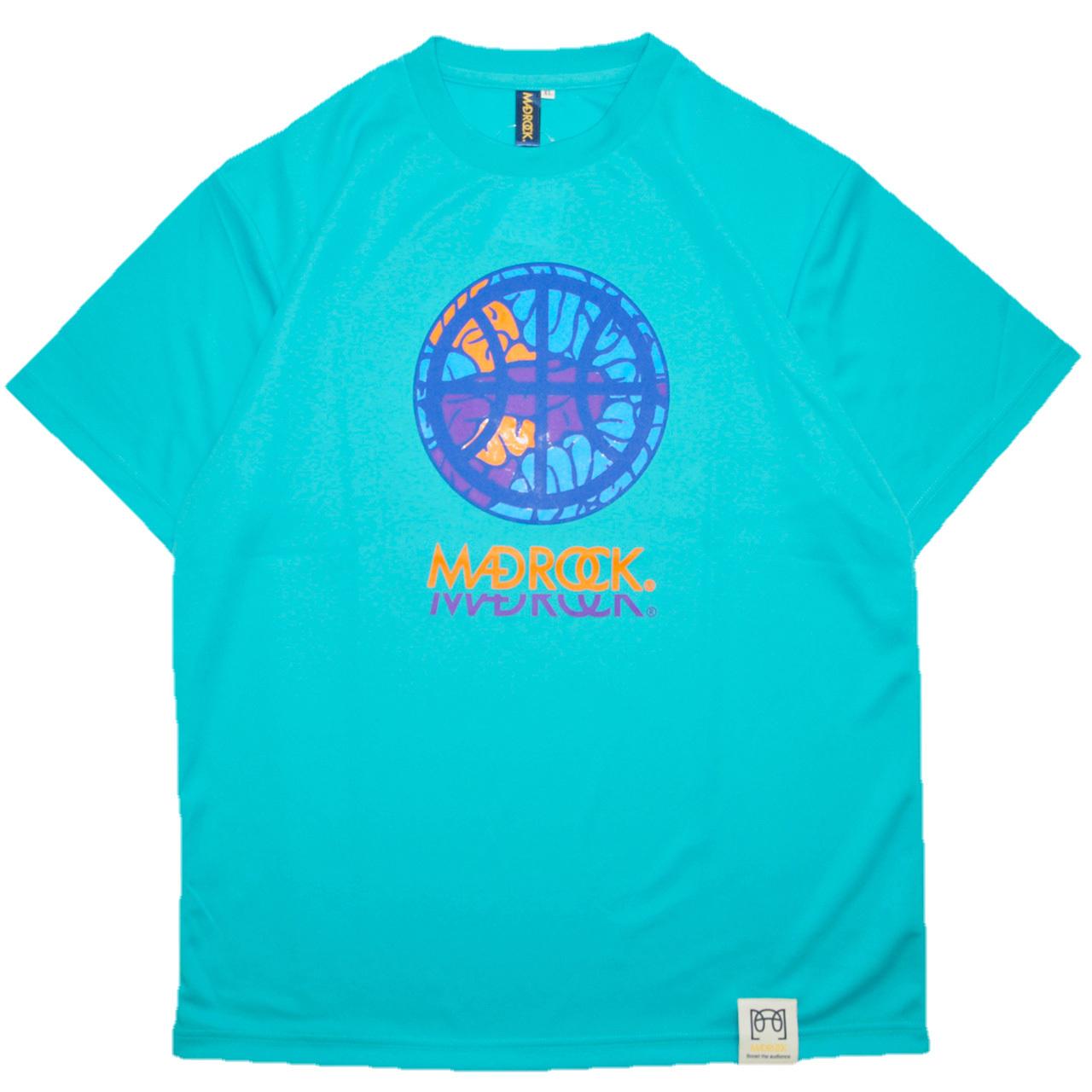 マッドロック - インテンションボール - Tシャツ / ドライタイプ / ミントブルー / MADROCK - Intention Ball - TEE
