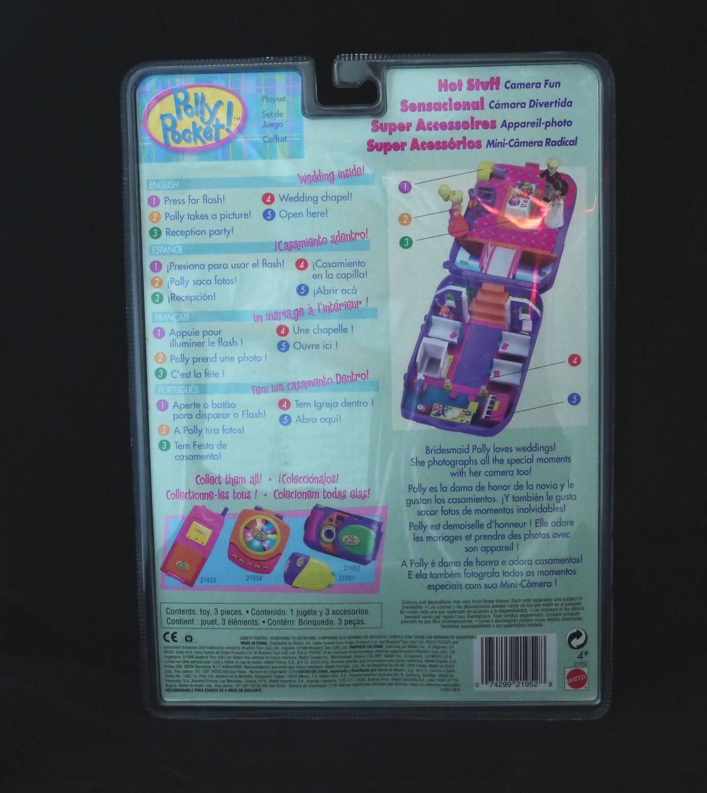 値下げ!ポーリーポケット カメラファン 新品 1998年