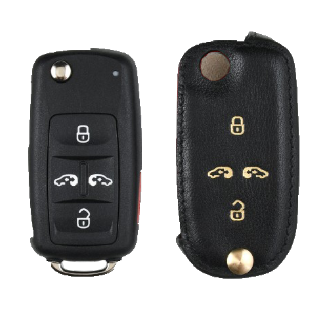 Volkswagen 専用 Type-B-2 Car Key Case Shrink Leather Case