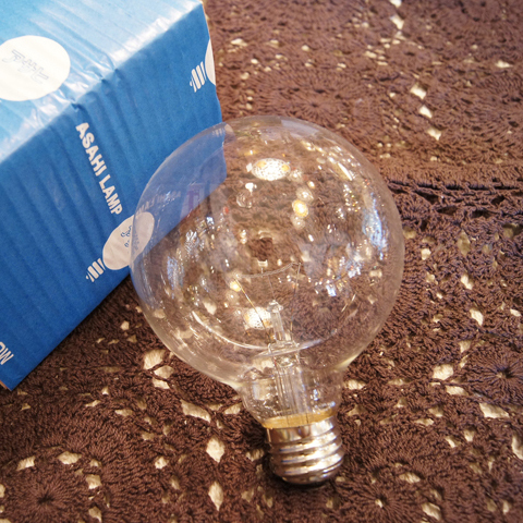 白熱電球 E26 100W ボール球クリア