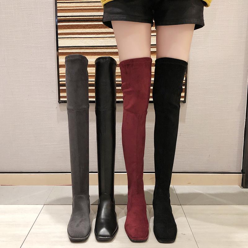 【shoes】一目惚れ流行ファッション無地ブーツ24003917