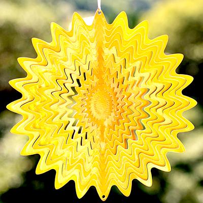 ゴールドカラー|太陽のヒカリ輝く【コスモスピナー/モビール】