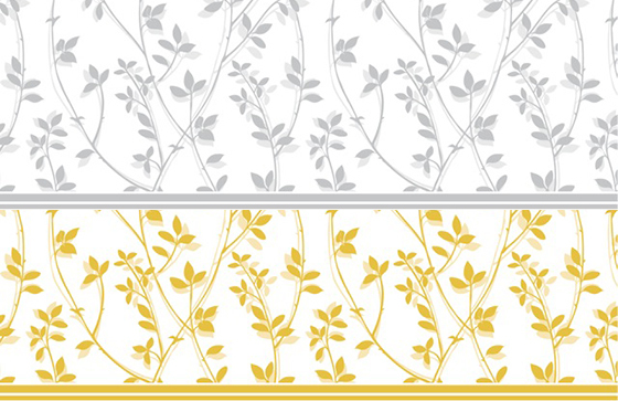 【割引】BRANCH ブランチ転写紙(ゴールド&シルバー)2色セット
