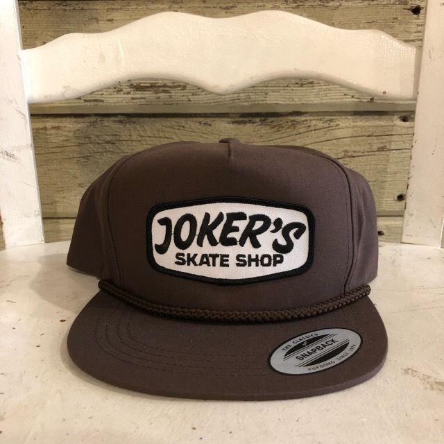 JOKER'S SKATE SHOP #Logo Trucker Cap