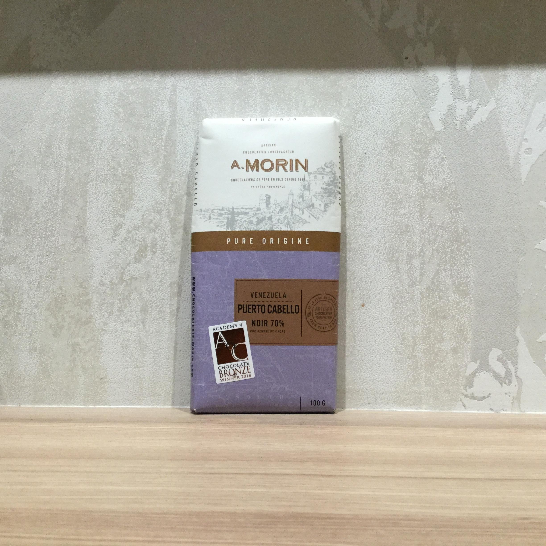 【CHOCOLATERIE-MORIN/ショコラトリーモラン】ベネズエラ プエルトカペーヨ70%