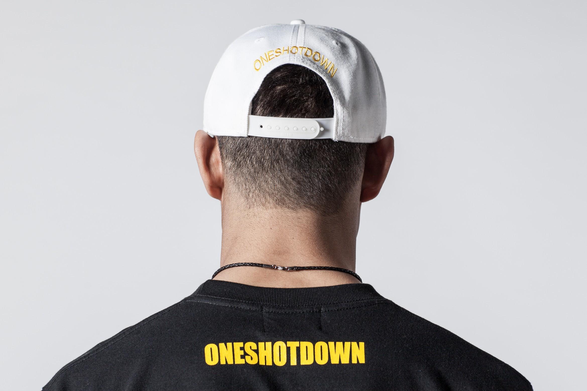 ONESHOTDOWN アルファベットCAP - 画像2