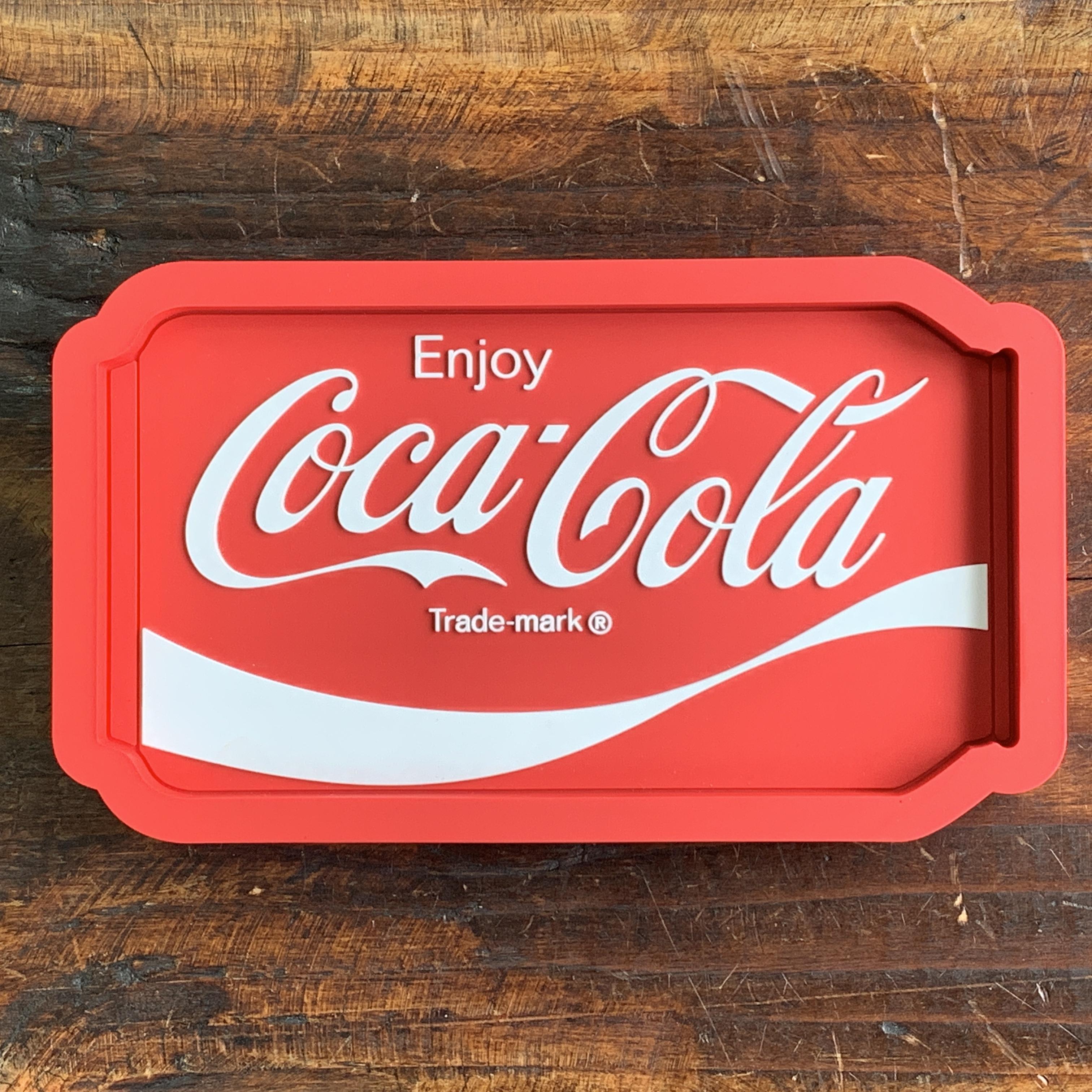 【予約受付中・2019/5月中旬ごろ入荷】コカ・コーラ・ラバートレイ・アクセサリー入れ・小物入れ・クリップホルダー - CAN