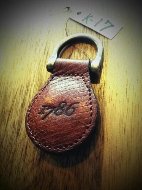 1786 Key Ring k-17